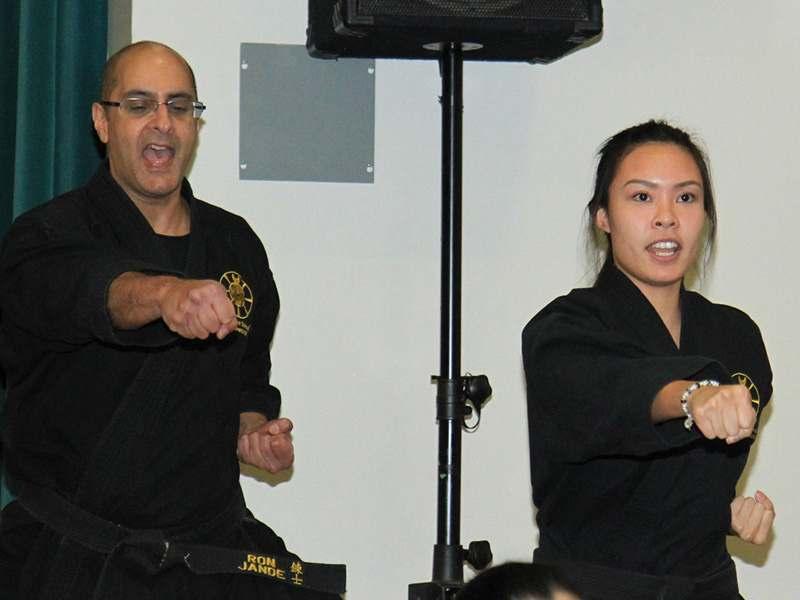 A2, John Leroux's World KarateFIT Centre in Ottawa, Ontario