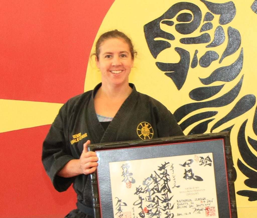Nathalie 1024x869, John Leroux's World KarateFIT Centre in Ottawa, Ontario